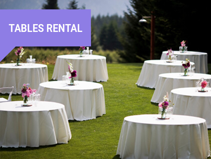 Tables Rental