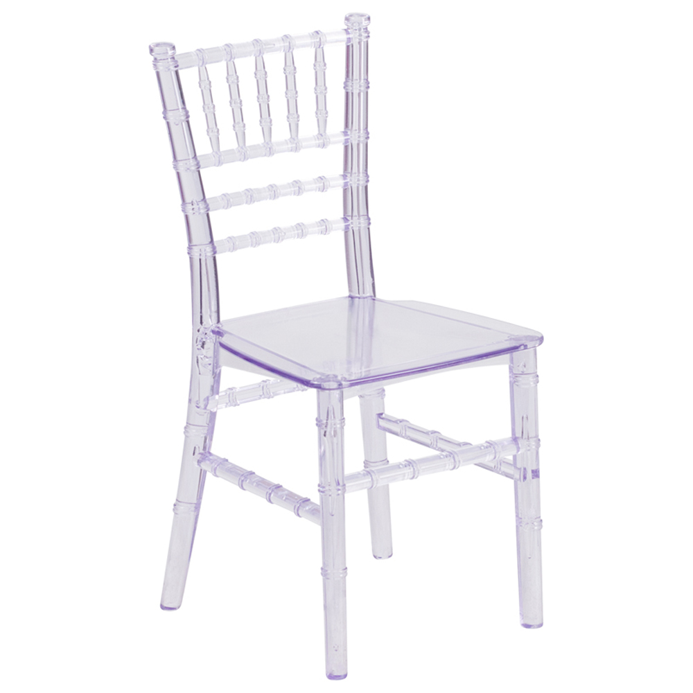 Clear Children Chiavari Chairs
