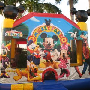 Full Face Mickey Bouncer