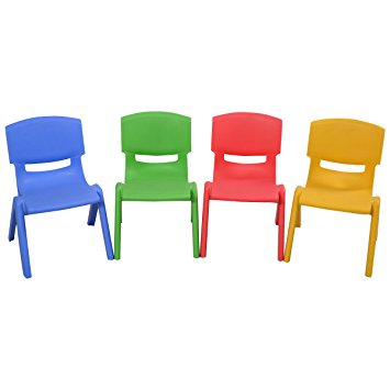 Kids Colorful Plastic Chair