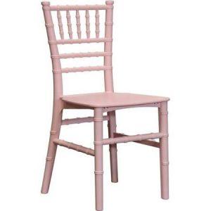 Pink Chiavari Stool Chairs
