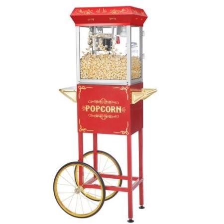 Rolling Popcorn Machine